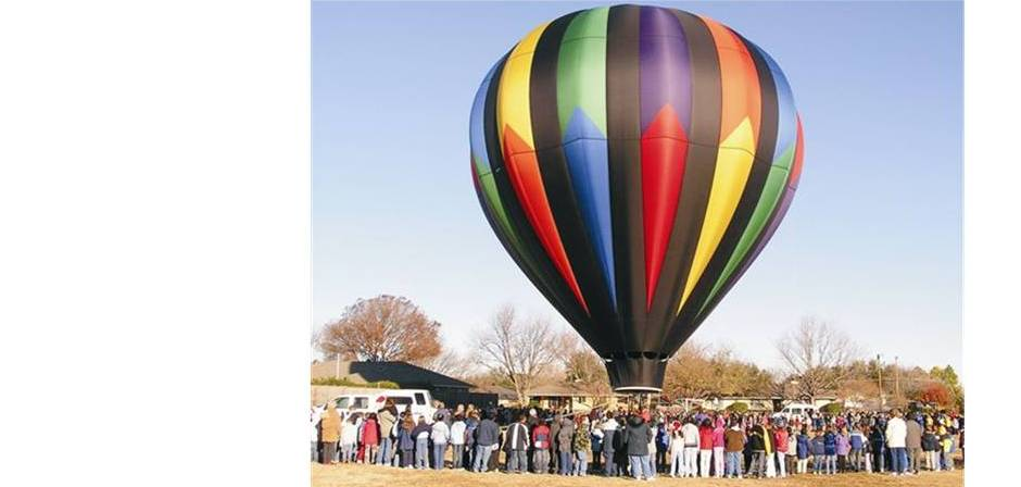 Up and Away w/Hot Air Ballons K - 12